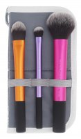 Real Techniques - TRAVEL ESSENTIALS - Set of 3 brushes - 01400