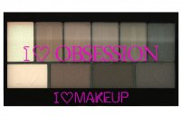 I ♡ Makeup - I ♡ OBSESSION PALETTE - 10 Eyeshadows - BORN TO DIE