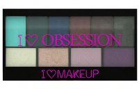 I Heart Revolution- I ♡ OBSESSION PALETTE - 10 eyeshadows - WILD IS THE WIND
