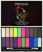 FREEDOM - PRO DECADENCE CLUBBED TO DEATH EYESHADOW PALETTE - 20 Eyeshadows