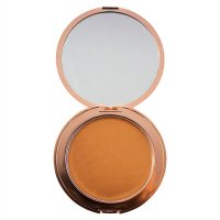 MAKEUP REVOLUTION - SKIN KISS - Cream Bronze Glow - Bronze Kiss - Illuminating bronzer in cream