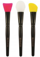 MAKEUP REVOLUTION - SILICONE CONTOUR - 3 Brushes