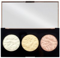 MAKEUP REVOLUTION - STROBE LIGHTING - Strobe Lighting Palette - 3 Highlighters