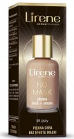 Lirene - NO MASK - Liquid foundation + serum with hyaluronic acid