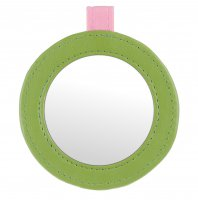 NIKO - FLOWER mirror in pretty, decorative case