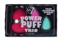 W7 - POWER PUFF TRIO - Face Blending Sponge Set - Set of 3 sponges