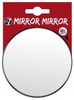 W7 - MIRROR MIRROR - 10 x Magnify - with 2 suction cups