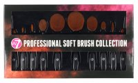 W7 - Professional Soft Brush Collection - Set of 10 make-up brushes
