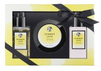 W7 - BATH & BODY SET - VANILLA ICE CREAM - SUMMER LOVE