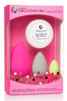 Beautyblender - all.about.face - 3 Make-up Sponges + Solid Soap