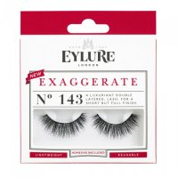 EYLURE - EXAGGERATE - NO. 143 - Eyelashes + Glue - Double Volume Effect