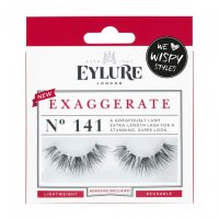 Eylure - EXAGGERATE - NO. 141 - Eyelashes + Glue - Double Volume Effect
