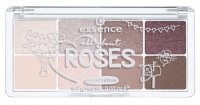 Essence - All about ROSES eyeshadow - Palette of 8 eyeshadows - 03 ROSES - 754316