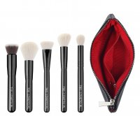 LOVETO.PL - Set of 5 make-up brushes + cosmetic bag