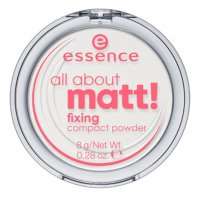 Essence - All about matt! Fixing Compact Powder - Transparent