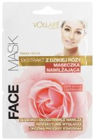 VOLLARÉ - MOISTENING MASK - WITH WILD ROSE EXTRACT - FACE & NECK