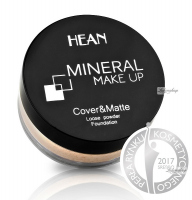 HEAN - MINERAL MAKE UP - Cover & Matte Loose Powder Foundation
