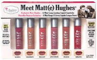 The Balm - Meet Matt(e) Hughes - 6 Mini Long-Lasting Liquid Lipsticks - EXCLUSIVE NEW SHADES
