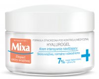 Mixa - HYALUROGEL - Intensively Moisturizing Cream for Sensitive, Normal and Dehydrated Skin