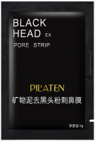 PILATEN - Black Head Pore Strip - Black mask - 6 g