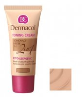 Dermacol - TONING CREAM 2in1 - Moisturizing cream and primer - NATURAL - NATURAL