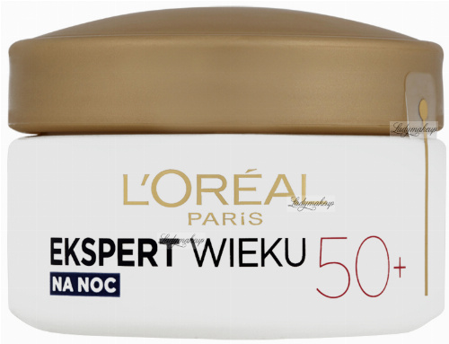 L'Oréal - AGE EXPERT - Triple Power - Anti-Wrinkle Night Cream 50+