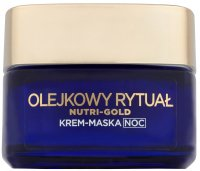 L'Oréal - NUTRI-GOLD - Oil Ritual - Nourishing Night Cream-Oil - Dry Skin