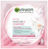 GARNIER - MOISTURE + COMFORT - TISSUE MASK SUPER HYDRATING & SOOTHING