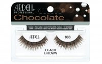 ARDELL - Chocolate Lashes - Black-brown lashes on strip - 886 - 886