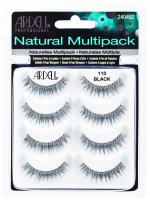 ARDELL - Natural Multipack - Set of 4 pairs of lashes on the strap - 110 BLACK - 110 BLACK