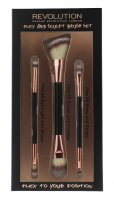 MAKEUP REVOLUTION - FLEX AND SCULPT BRUSH SET