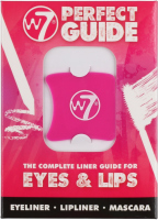 W7 - THE COMPLETE LINER GUIDE FOR EYES & LIPS - Set of 4 make-up templates