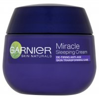 GARNIER - MIRACLE SLEEPING CREAM - Anti Wrinkle Night Cream