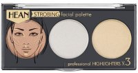 HEAN - STROBING FACIAL PALETTE - Professional Highlighters x 3