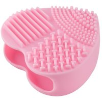 LOVETO.PL - Silicone heart for cleansing brushes - PINK