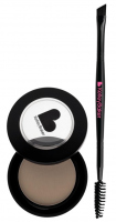 Kelley Baker Brows - BROW POWDER + ANGLE SPOOL BRUSH - BROWN - BROWN