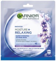 GARNIER - MOISTURE + RELAXING - SUPER HYDRATING DETIRING MASK