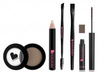 Kelley Baker Brows - A set of 5 eyebrow makeup products - BROWN
