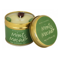 Bomb Cosmetics - Mint Mocha - Handmade scented candle with essential oils