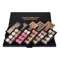 MAKEUP REVOLUTION - PALETTE VAULT - Set of 10 palettes for face and eye make-up