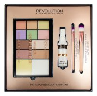 MAKEUP REVOLUTION - PRO AMPLIFIED SCULPT AND FIX KIT