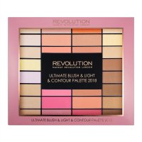 MAKEUP REVOLUTION - ULTIMATE BLUSH & LIGHT & CONTOUR PALETTE 2018