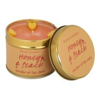 Bomb Cosmetics - Honey & Peach - Handmade scented candle with essential oils