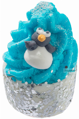 Bomb Cosmetics - Penguin Kisses - Creamy Bath Bun
