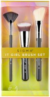 Sigma - IT GIRL BRUSH SET - Set of 3 brushes for face make-up
