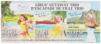 The Balm - GIRLS GETAWAY TRIO - Long-Wearing Bronzer / Blush - Set of 3 blushers