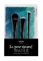 NYX Professional Makeup - MAKEUP BRUSH SET - In your element - WATER