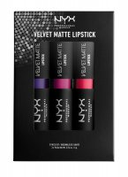 NYX Professional Makeup - VELVET MATTE LIPSTICK 03 - Set of 3 lip glosses