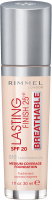RIMMEL - LASTING FINISH 25HR - BREATHABLE - Ultra-light, high-coverage foundation
