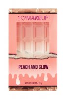 I Heart Revolution - PEACH AND GLOW - HIGHLIGHT & ILLUMINATOR DUO